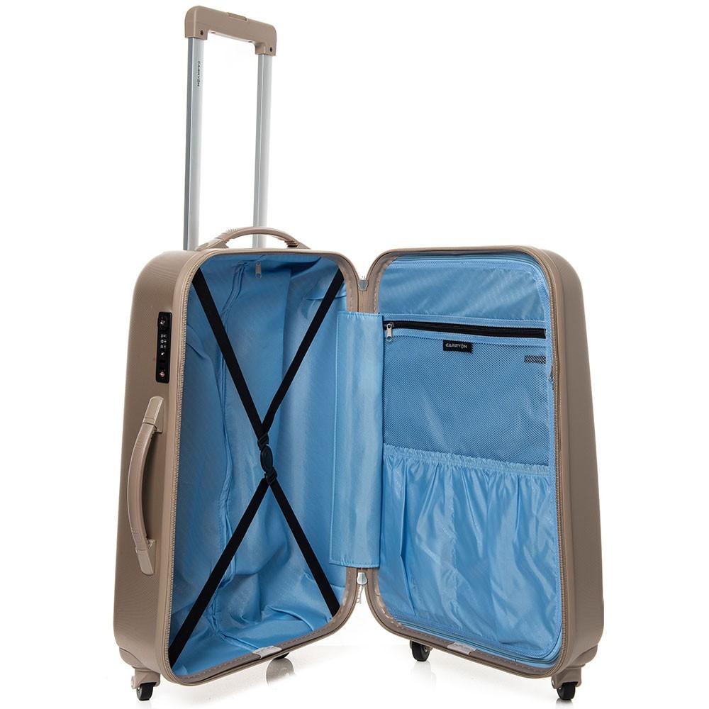 ae3255774ec Deze goedkope reiskoffer is van een populair merk. CarryOn is een goed  merk. En daarom staat deze koffer op het lijstje. Voor 60 euro een goede  koffer met ...