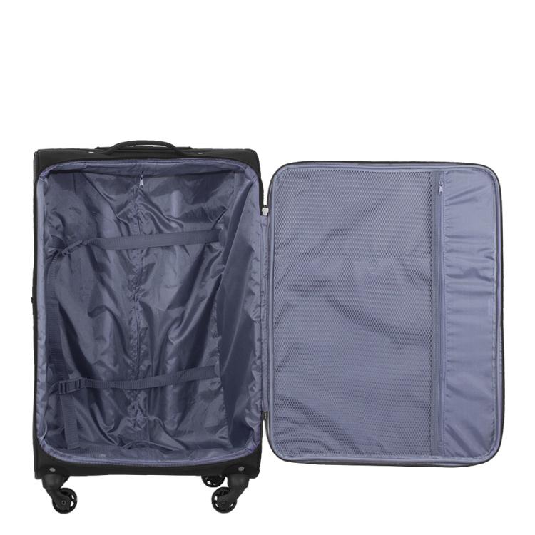 2031d3cf1f2 Het is een lichte softcase koffer voor een mooie prijs. Hij is gemaakt van  polyester en te koop in verschillende kleuren.