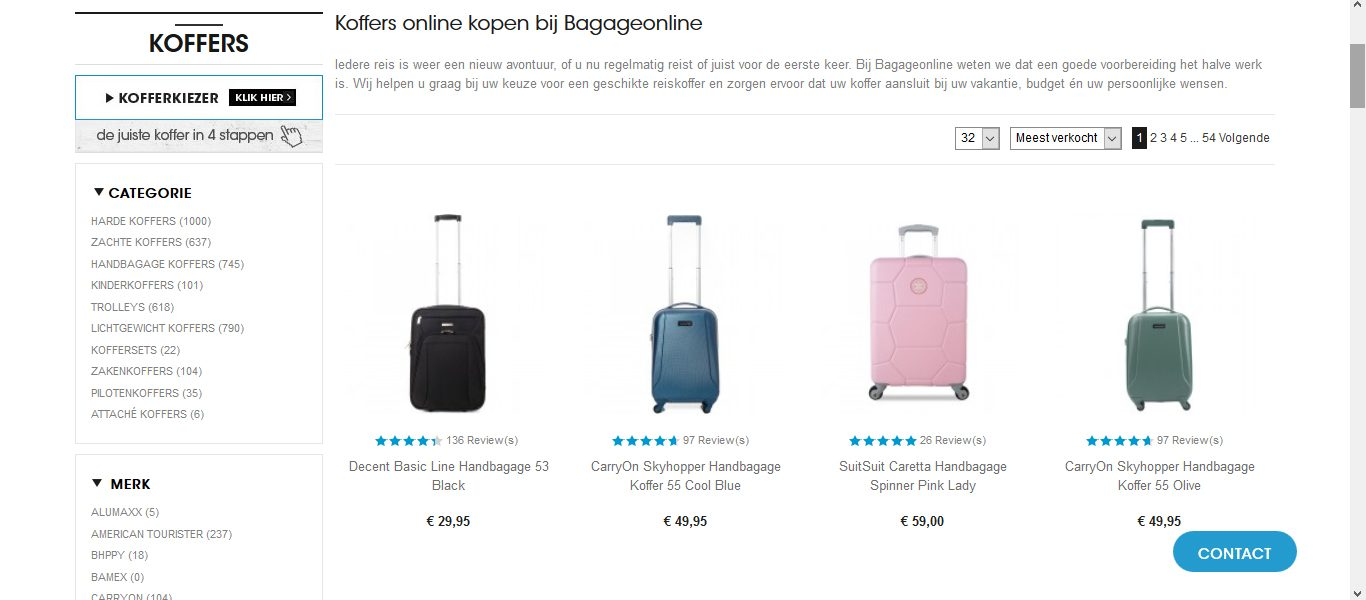 0445f4d78e2 Waar kan ik een koffer online kopen? - Kofferkiezen.nl
