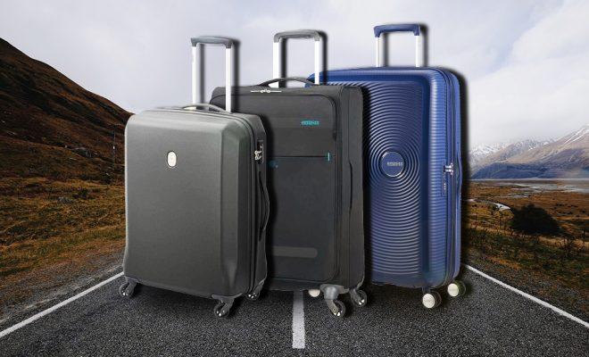 7 goede koffers met een inhoud van 60 liter 15 kg. Black Bedroom Furniture Sets. Home Design Ideas