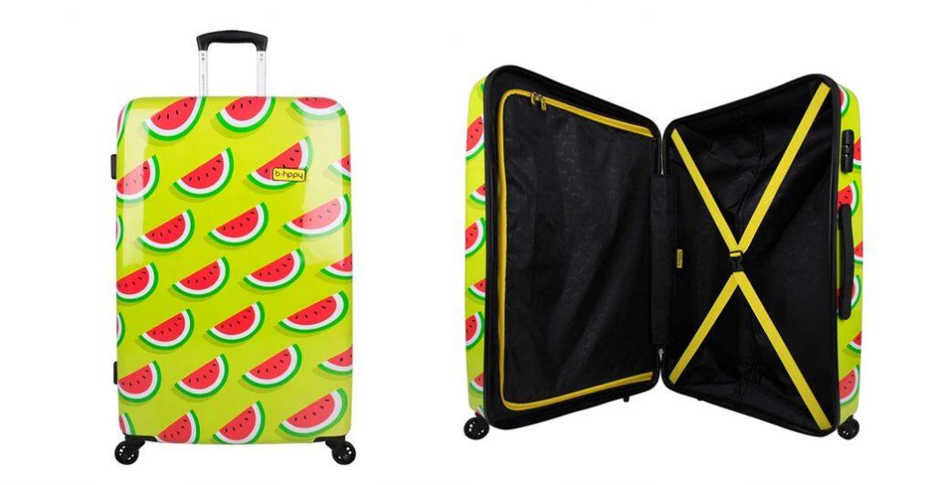 BHPPY Spinner beste handbagage koffer