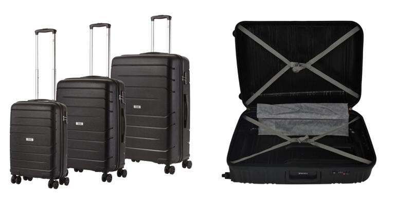 Kofferset - Big Bars met TSA slot - Travelz